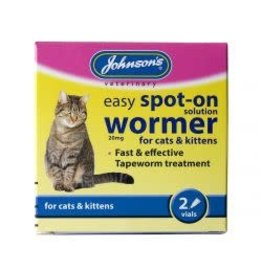 Johnsons Veterinary Products Johnsons Spot On Wormer 2 Pack