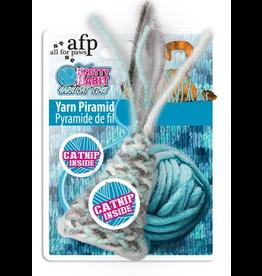 afp afp Yarn  Pyramid Cat Toy