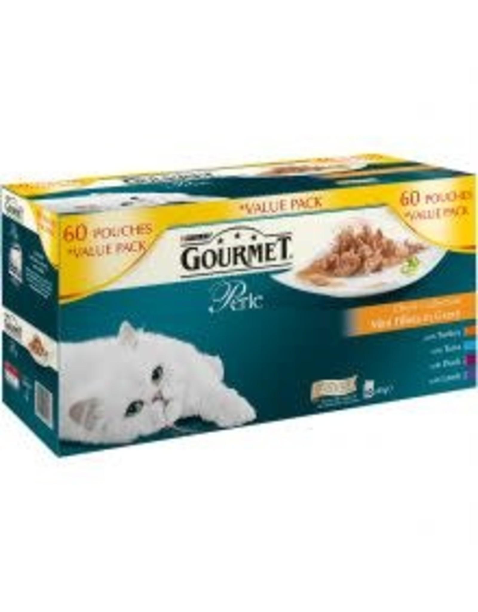 Purina Gourmet Perle Mixed Variety 60 Pack