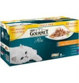 Purina Gourmet Perle Mixed Variety 60 Pack