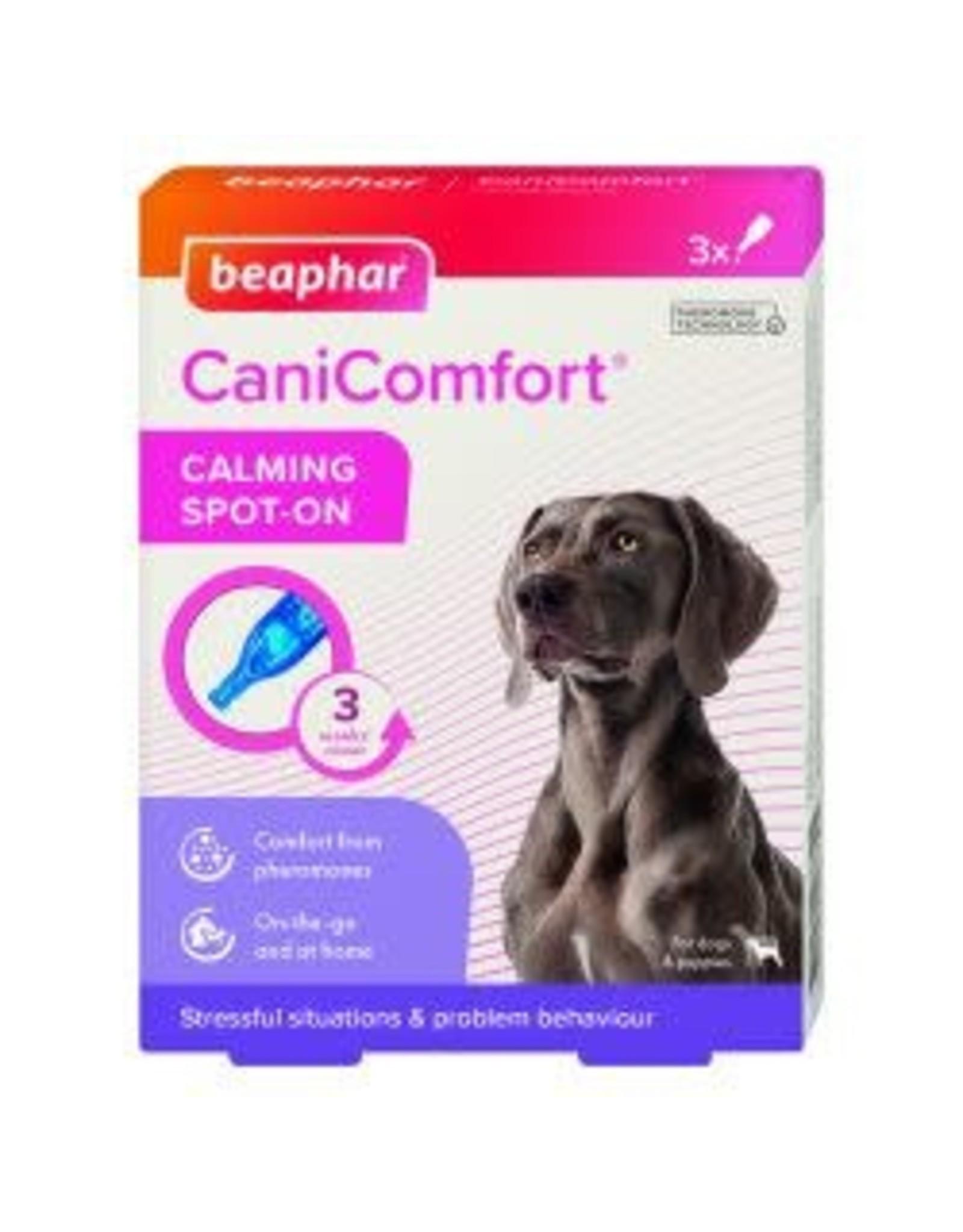 Beaphar Beaphar CaniComfort Calming Spot On 3 Pack