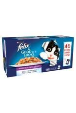 Felix Felix Original Mixed Selection In Jelly 40 Pack