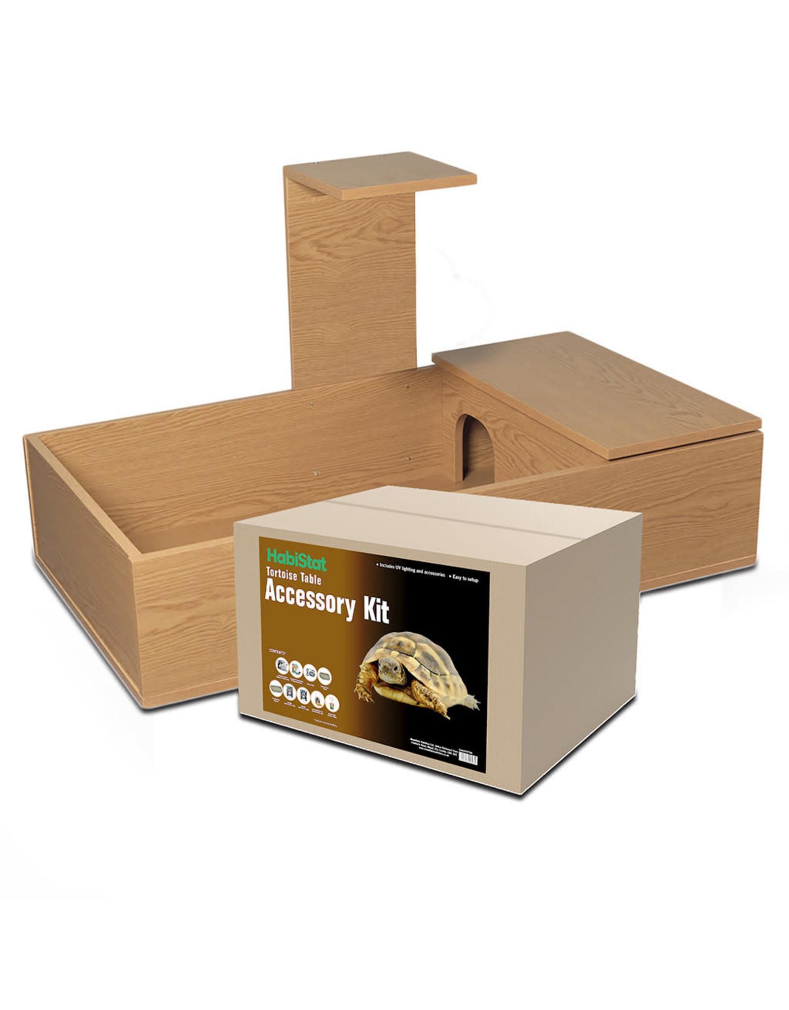 Habistat Habistat Tortoise Table Starter Kit Oak