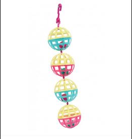 Happy Pet Multi Ball Bird Toy