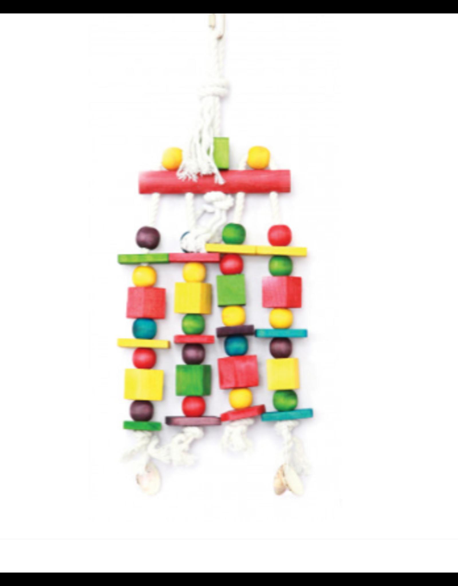 Happy Pet Parrot Toy Blocks & Beads