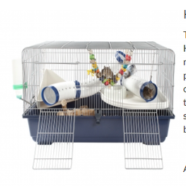 Little Zoo Ricky Rodent 80 Cage