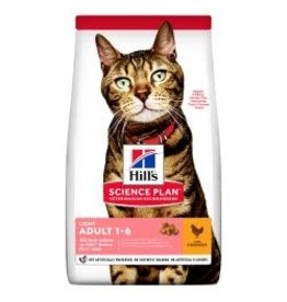 Hills Hills Cat Dry Food Adult Light Chicken 1.5kg
