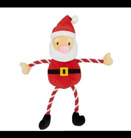 Armitage Giant Hug Tug Santa Dog Toy