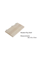 Sky Pet Products Wooden Play Shelf