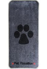 Pet Rebellion Stop Muddy Paws Grey/Black