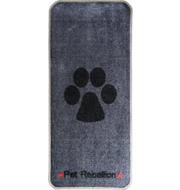 Pet Rebellion Stop Muddy Paws Grey/Black