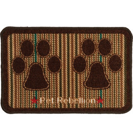 Pet Rebellion Dinner Mate Berkshire Tweed Mat