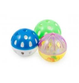Ancol Ancol Ball N Bell 3 Pack
