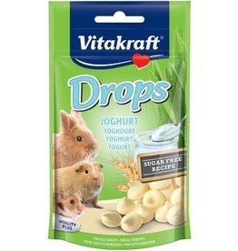 Vitakraft Vitakraft Small Animal Yoghurt Drops 75g