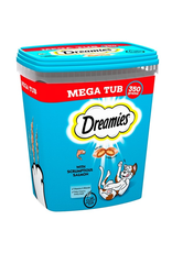 Dreamies Dreamies MEGA TUB 350g Salmon