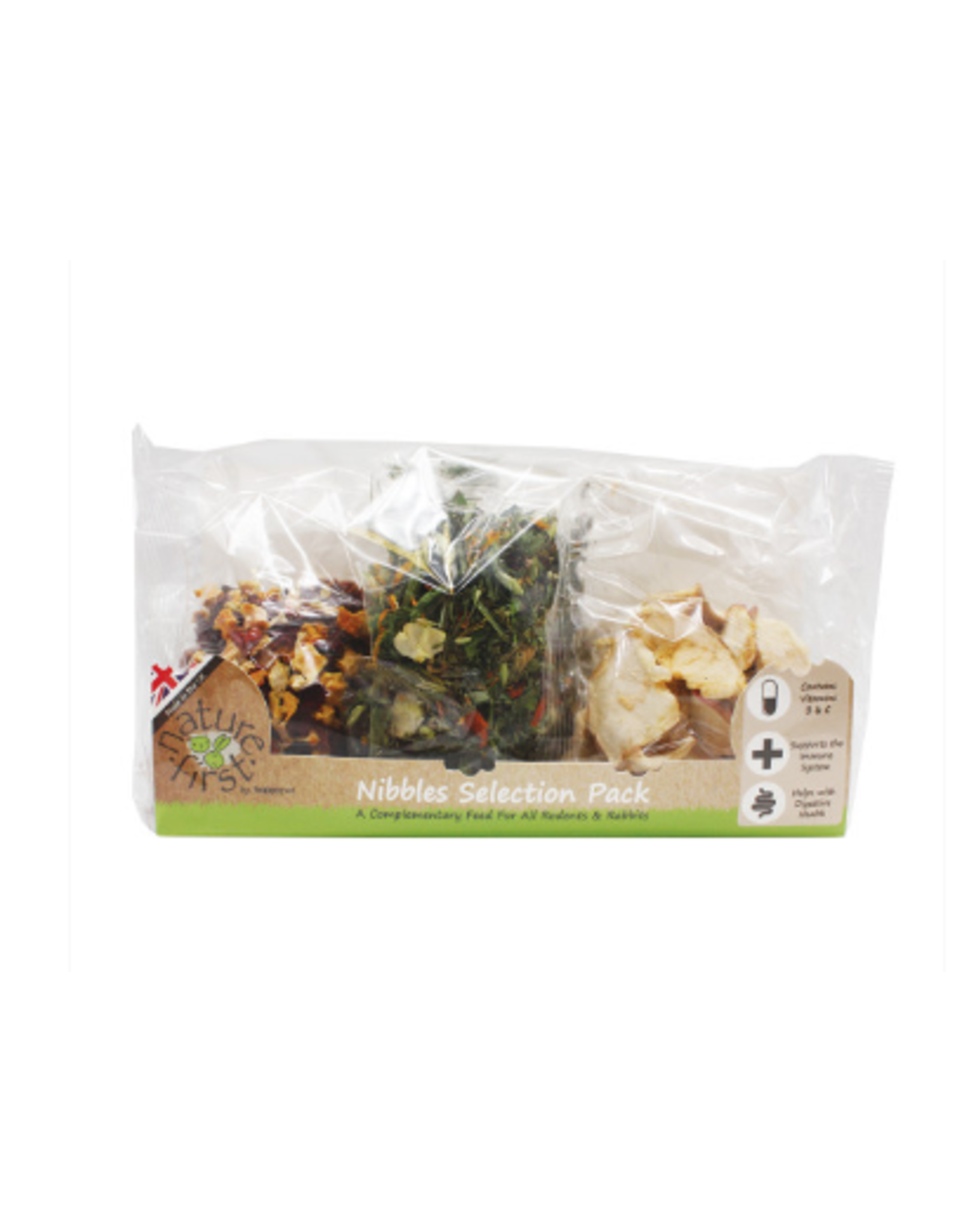 Nature First Natures First Nibbles Selection Pack 100g