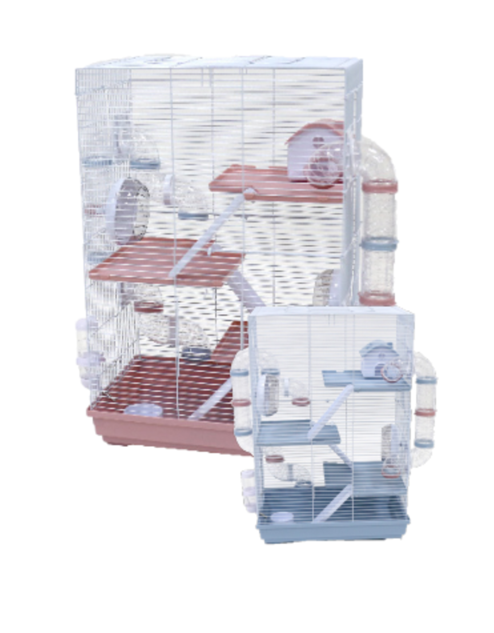 Little Zoo Harriet Small Animal Cage Blue