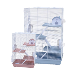Little Zoo Harriet Small Animal Cage Pink