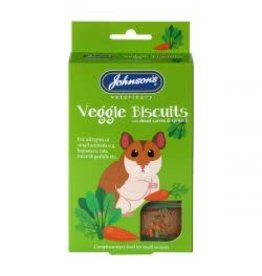 Johnsons Small Animal Veggie Biscuit 5 Pack