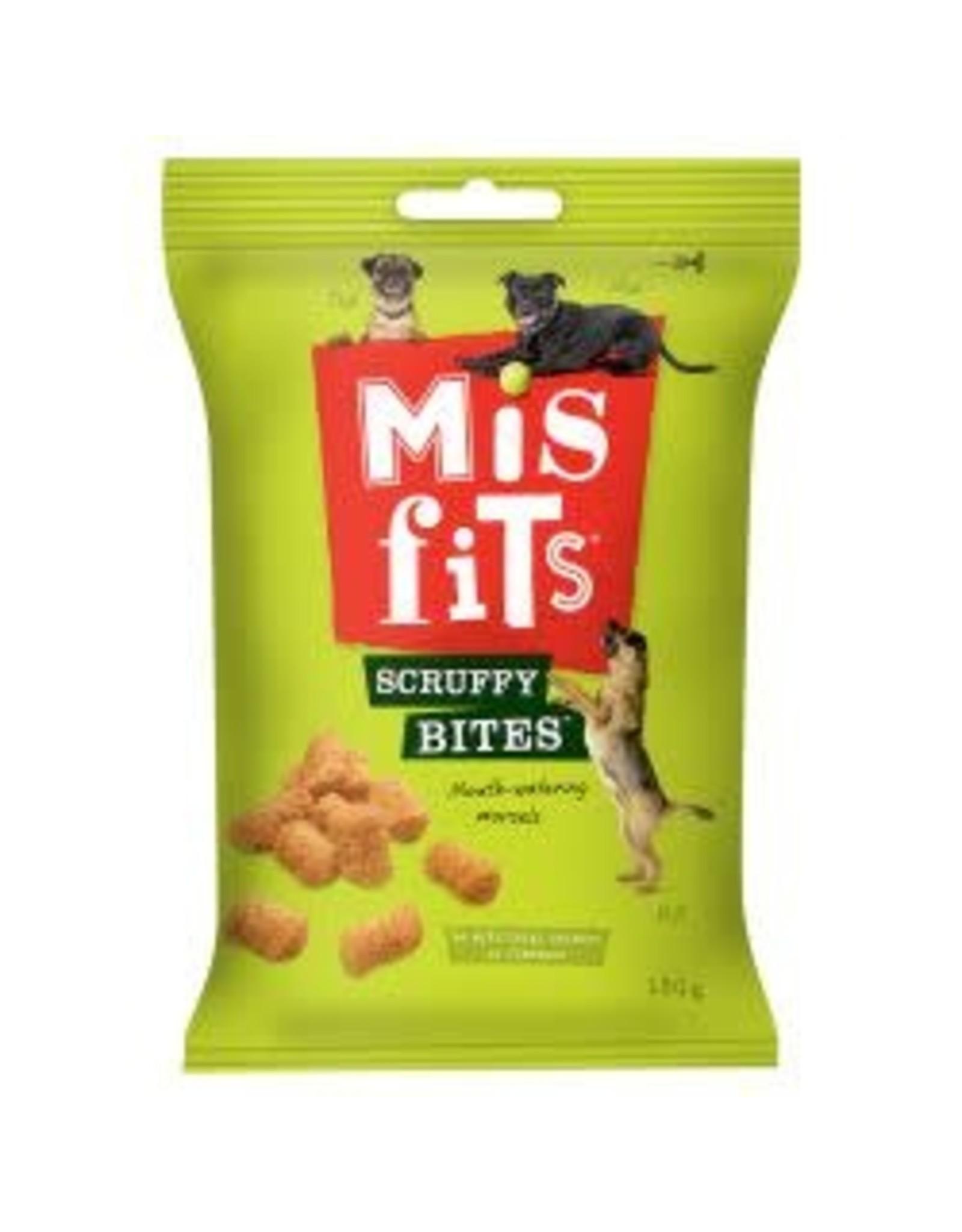 Misfits Misfits Scruffy Bites 180g