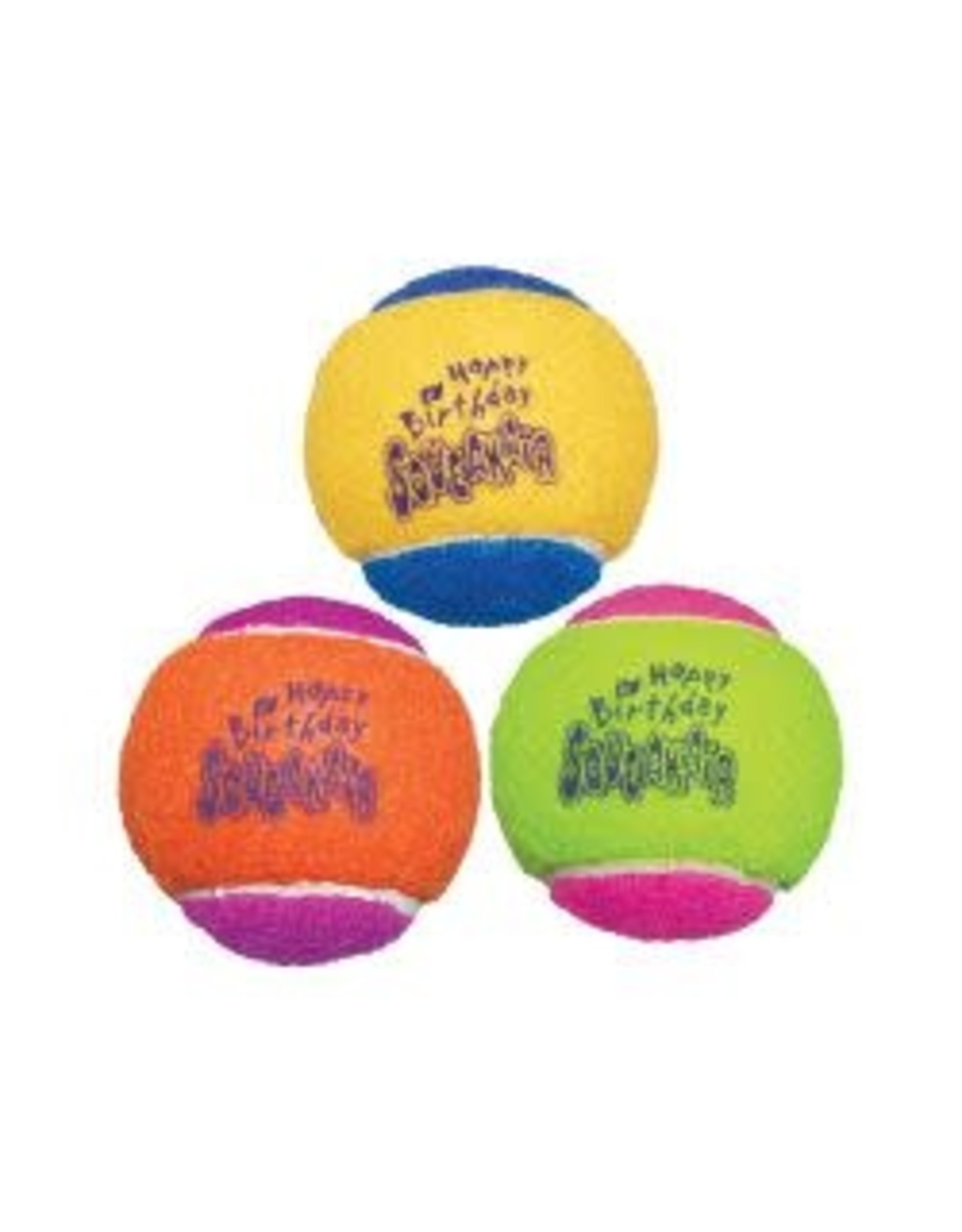 Kong Kong Squeakair Birthday Ball 3 Pack
