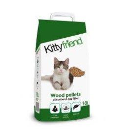 Kitty Friend Kitty Friend Wood Pellets Litter 10L