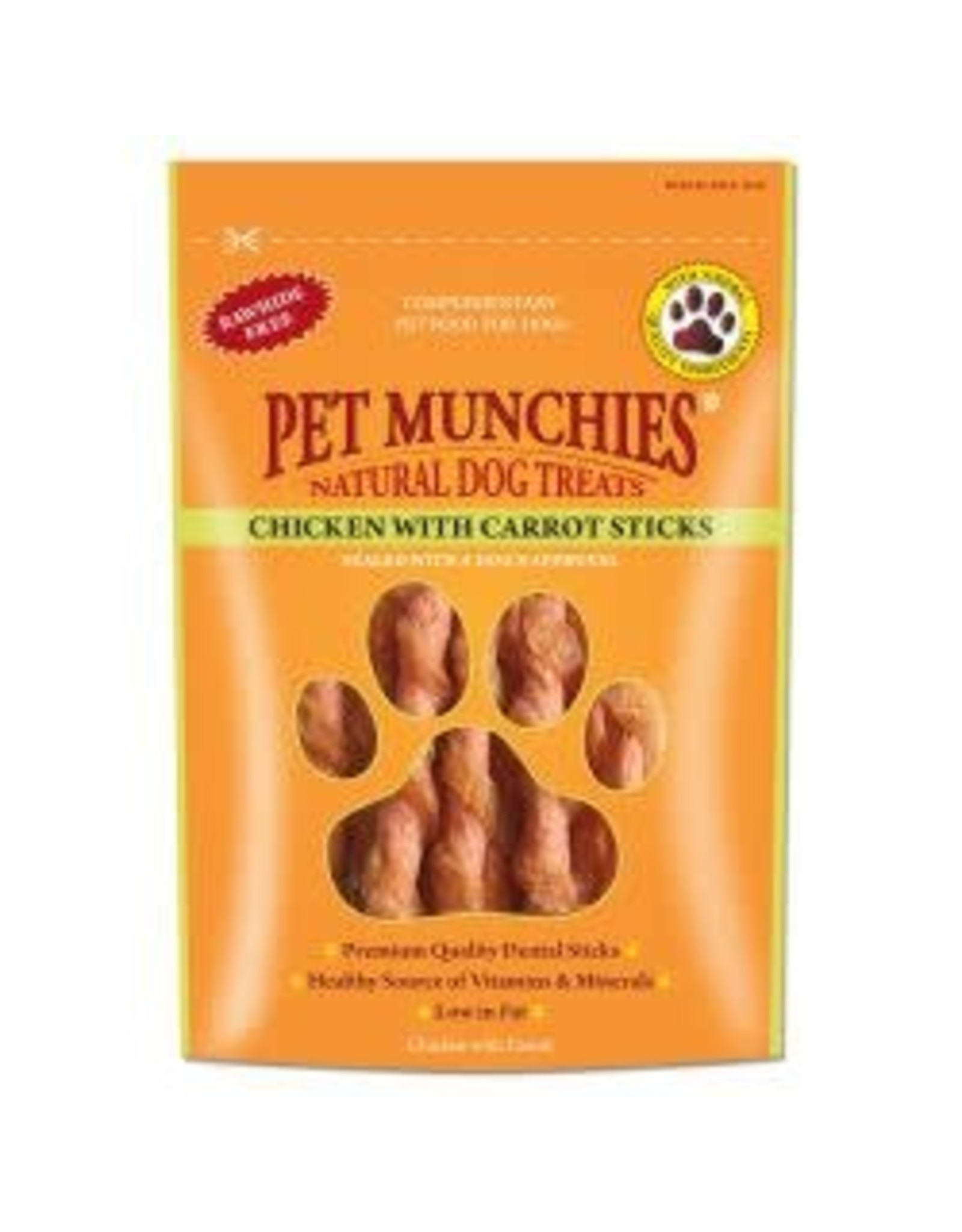 Pet Munchies Pet Munchies Chicken With Carrot Sticks 80g