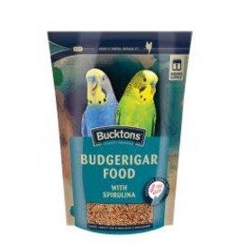 Bucktons Bucktons Budgerigar Food With Spirulina 500g