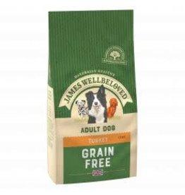 James Wellbeloved James Wellbeloved Adult Dog Grain Free Turkey & Veg. 1.5kg