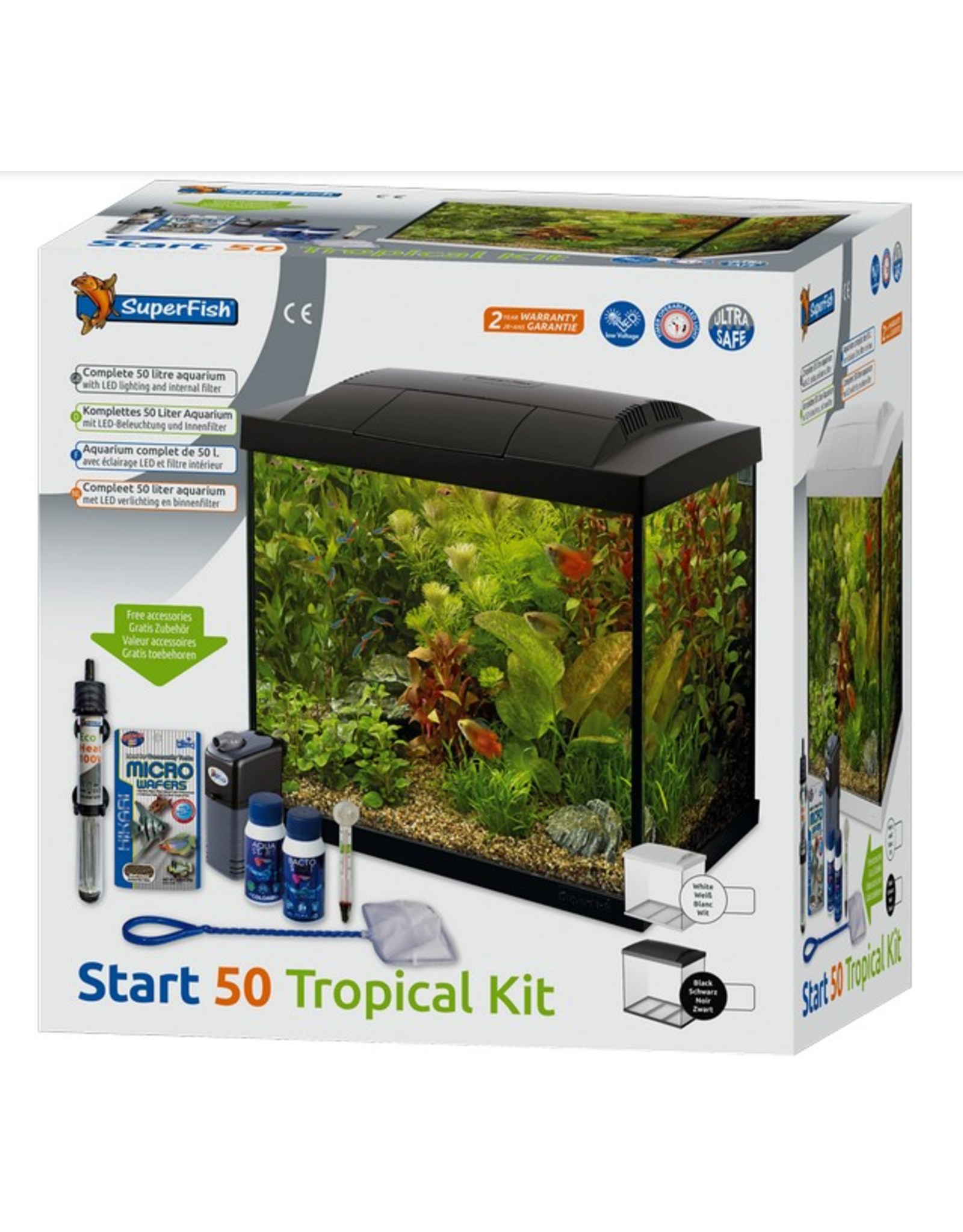 SuperFish SF Start 50 Tropical Kit Black