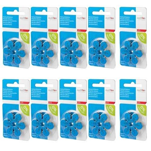 Audifon Audifon 675 (PR44) Blauw hoortoestel batterij - Voordeelpakket