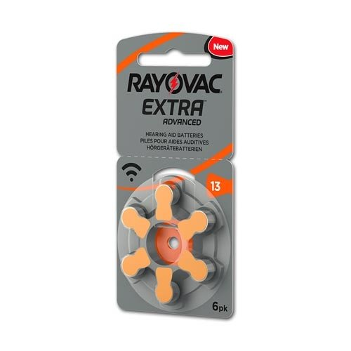 Rayovac Rayovac Extra Advanced 13 (PR48) Orange Hörgerätebatterie