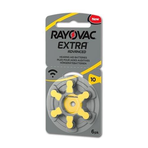 Rayovac Rayovac Extra 10 (PR70) Geel Hoortoestel batterij
