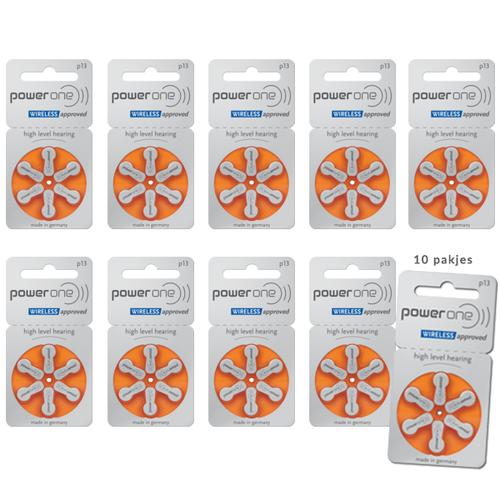 Power One Power One P13 (PR48) Oranje batterij gehoorapparaat