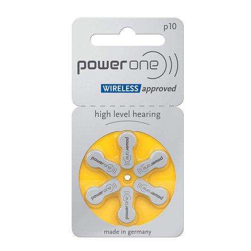 Power One Power One P10 (PR70) Gelbe Hörgerätebatterie