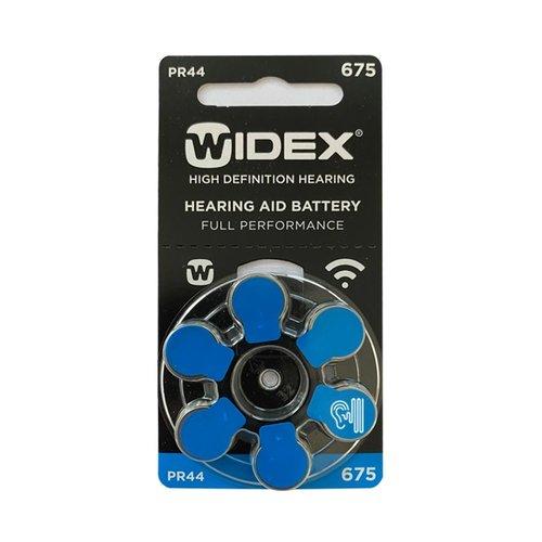 Widex Widex 675 (PR44) Blauer Hörgerätebatterie