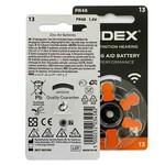 Widex Widex 13 (PR48) Orange Hörgerätebatterie