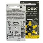 Widex Widex 10 (PR70) Gelb Hörgerätebatterie