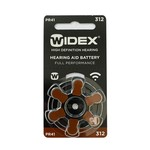 Widex Widex 312 (PR41) Bruin hoortoestel batterij
