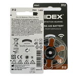 Widex Widex 312 (PR41) Braun Hörgerätebatterie