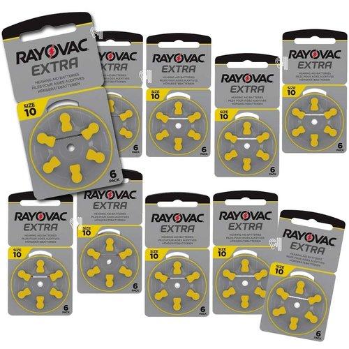 Rayovac Rayovac Extra  10 (PR70) geel Hoortoestel batterij Voordeelpakket