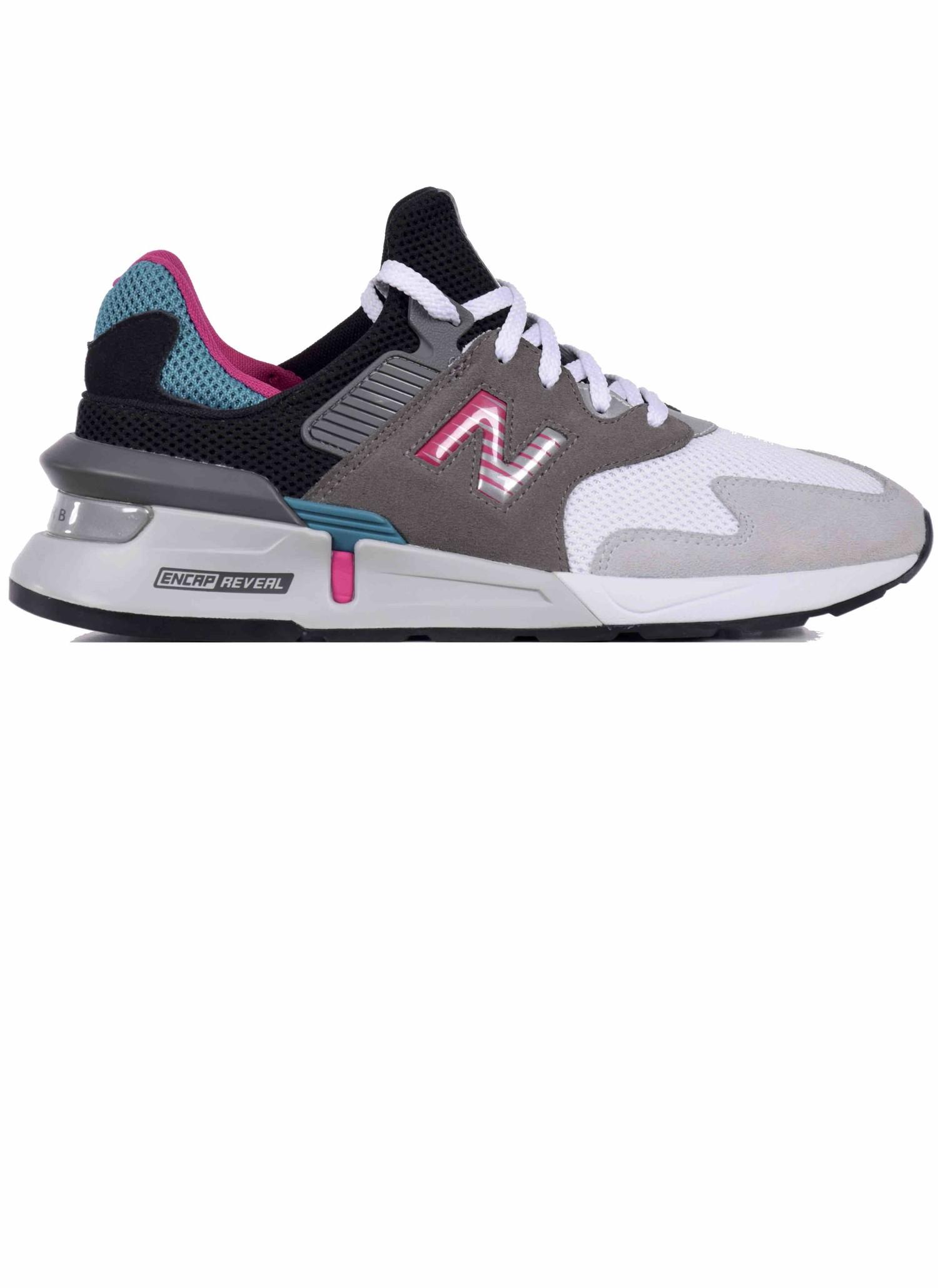 New Balance MS 997 JCF Sneakers Green & Grey   HALO - HALO