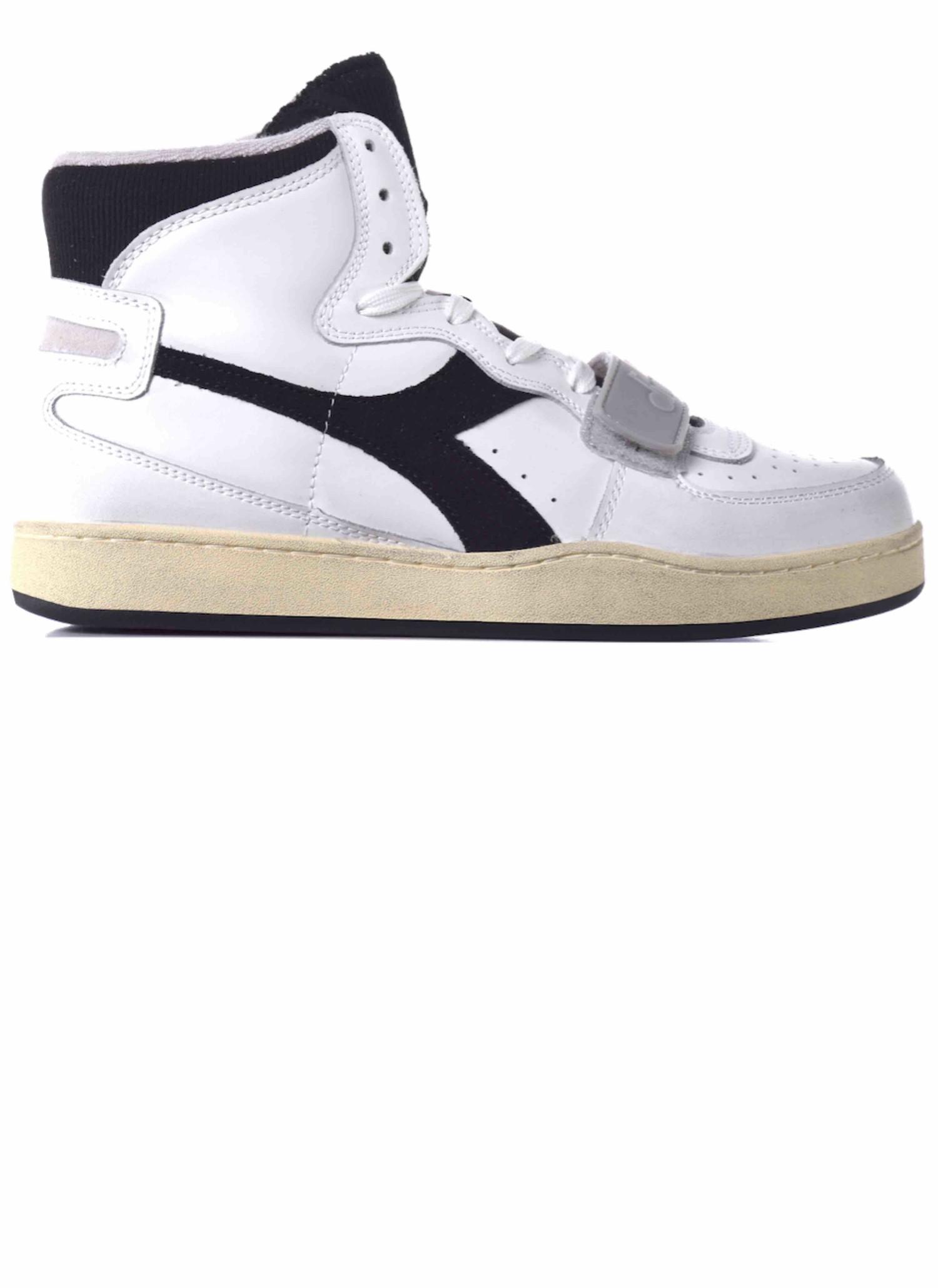 Diadora Basket High Sneakers White