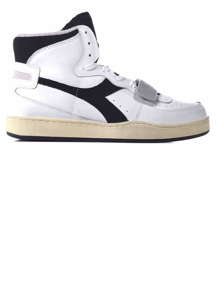 Diadora Basket High Sneakers Blue \u0026 Red