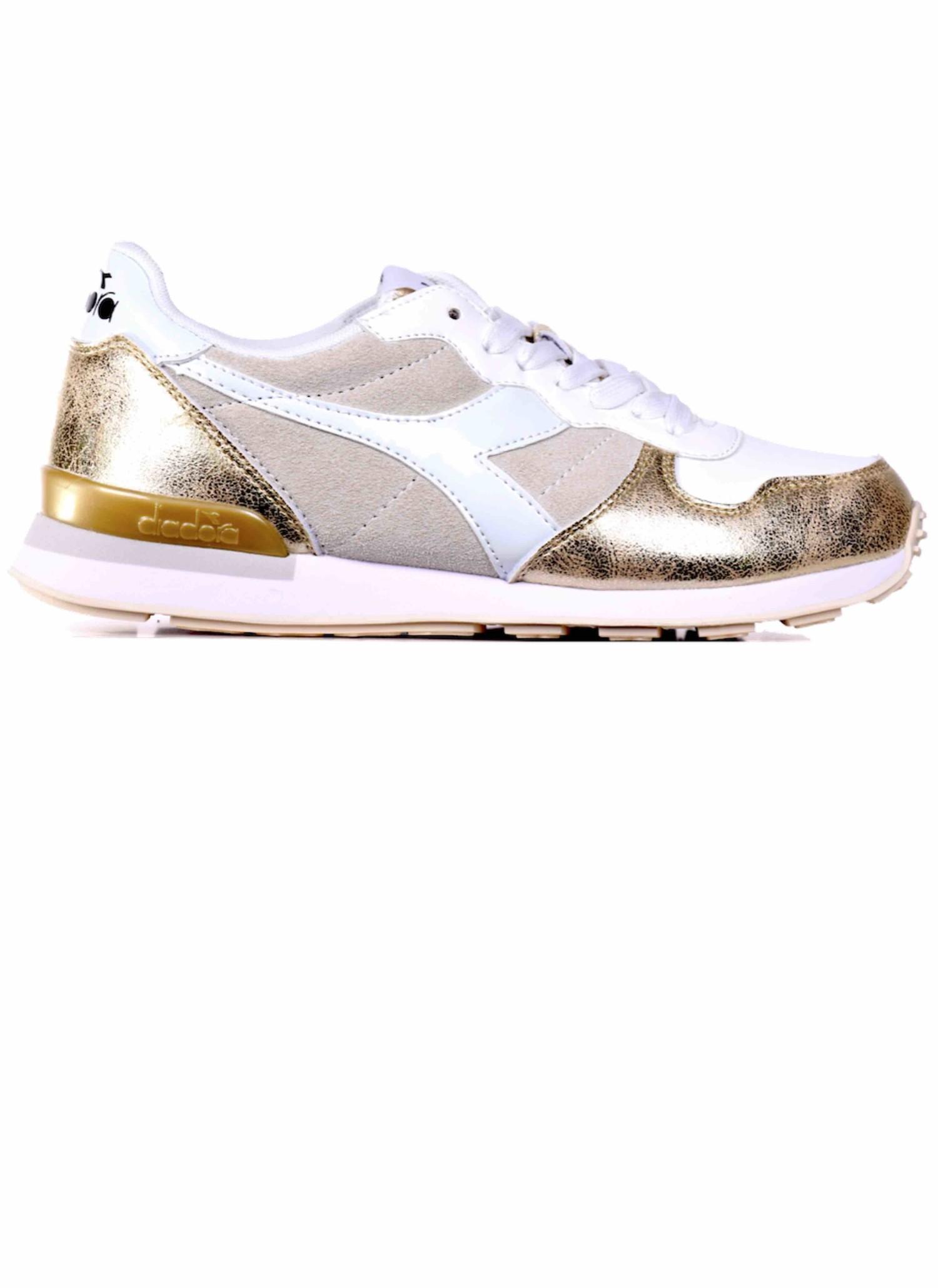 Diadora Camaro Bling Sneakers Gold