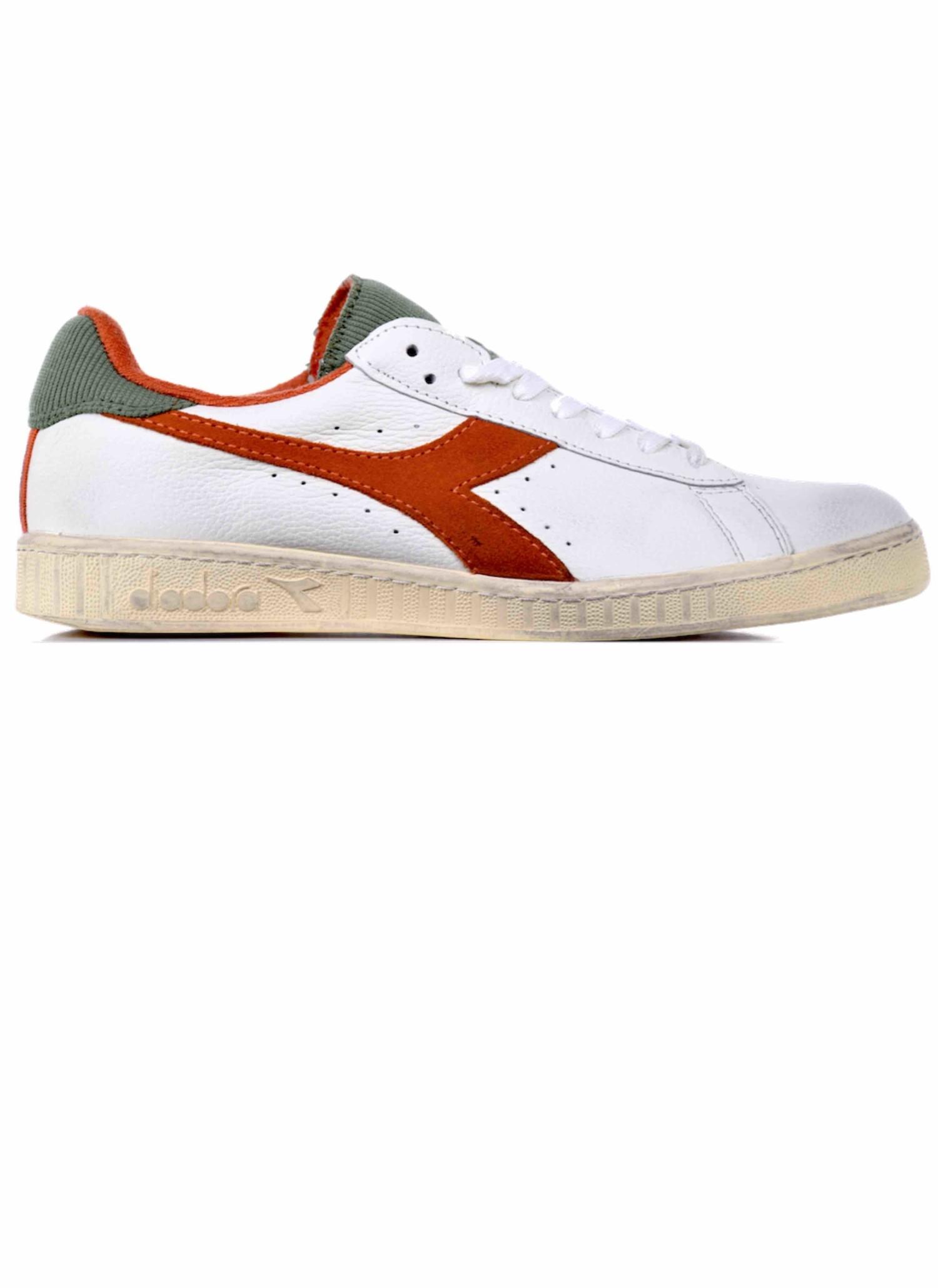 Diadora Game Low Used Sneakers Orange
