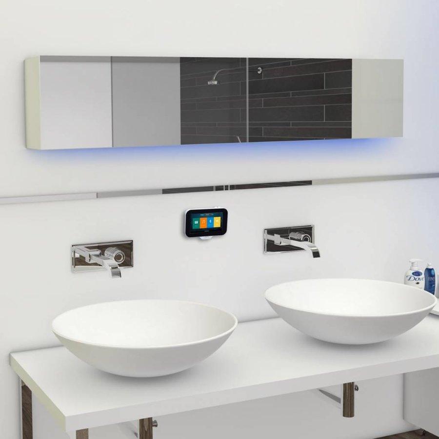 Radio Music Center N-Joy Controller (IPX7) + Wand lader + Twin Sound-bar / 2x25 Watt (IPX5)