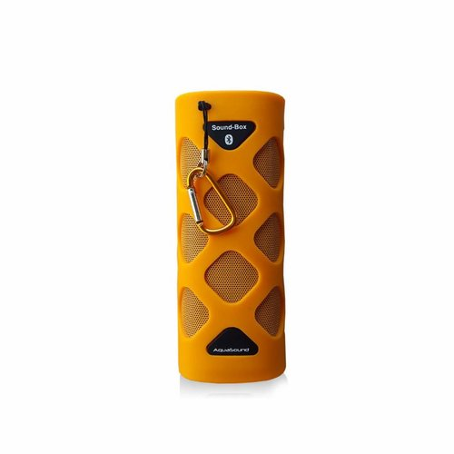 NIET MEER LEVERBAAR Bluetooth Sound-Box Waterproof (IPX5) + USB oplaadkabel Oranje