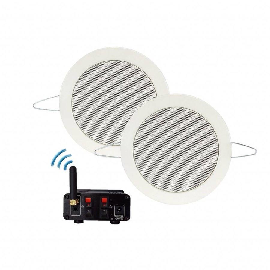 Bluetooth Music Center + Twist Speakerset 50 Watt / BT4.0 / AUTO-AUX