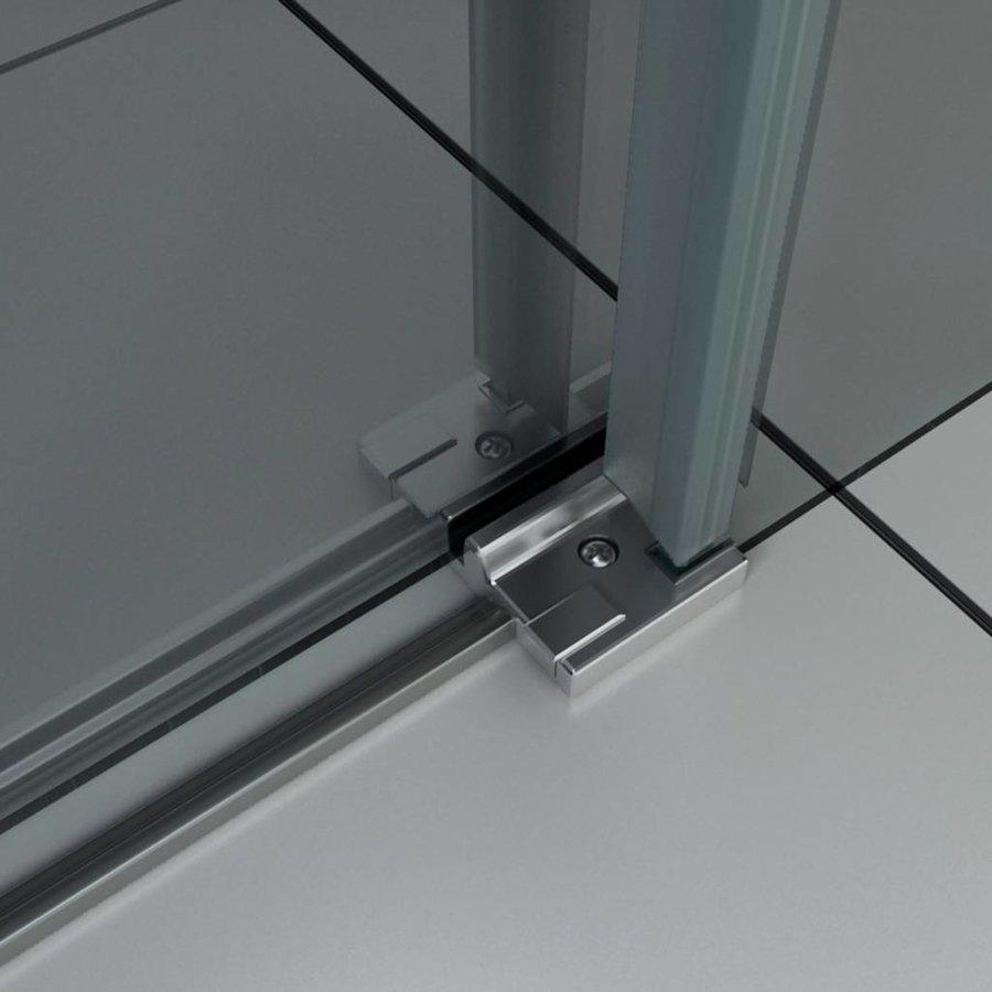 Nisdeur 140X200 Cm 8 Mm Veiligheidsglas Met Nano Behandeling